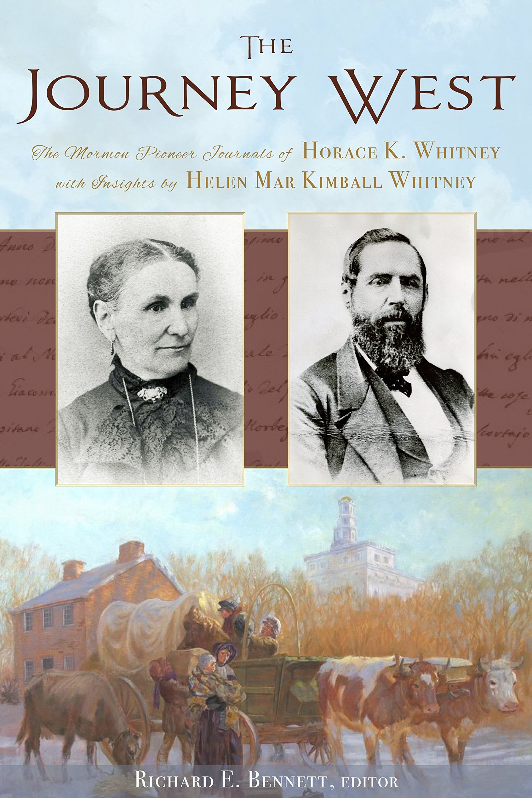 Image for The Journey West;   The Pioneer Journals of Horace K. Whitney with Insights from Helen Mar Kimball Whitney