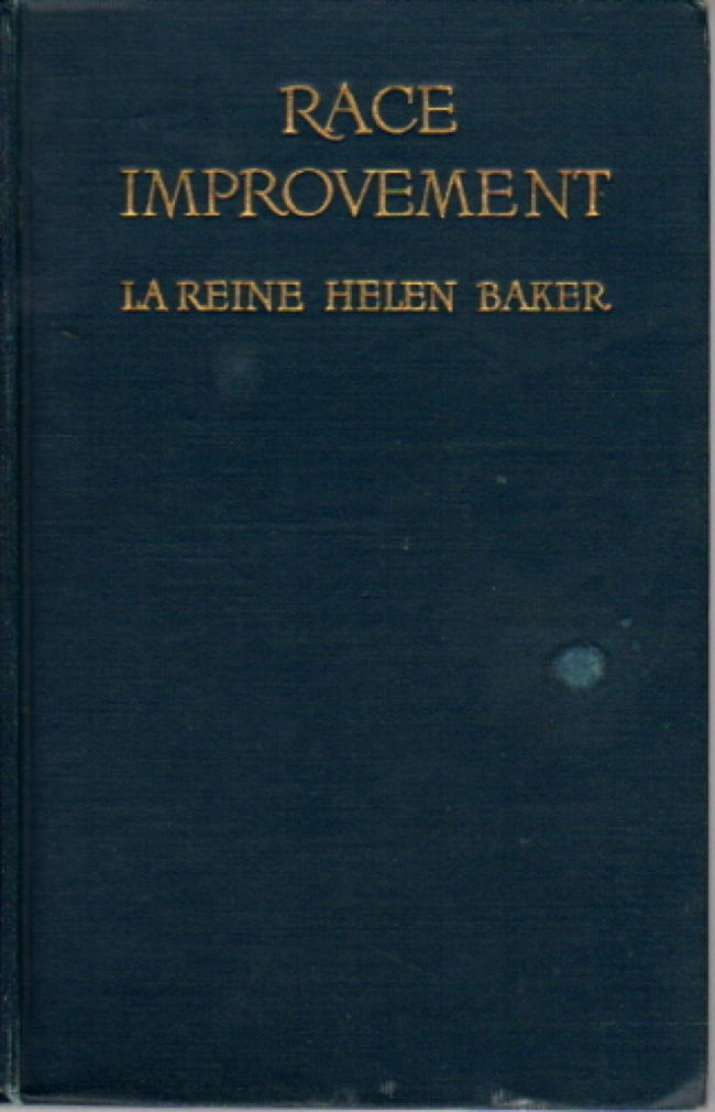 Image for Race Improvement or Eugenics A Little Book on a Great Subject