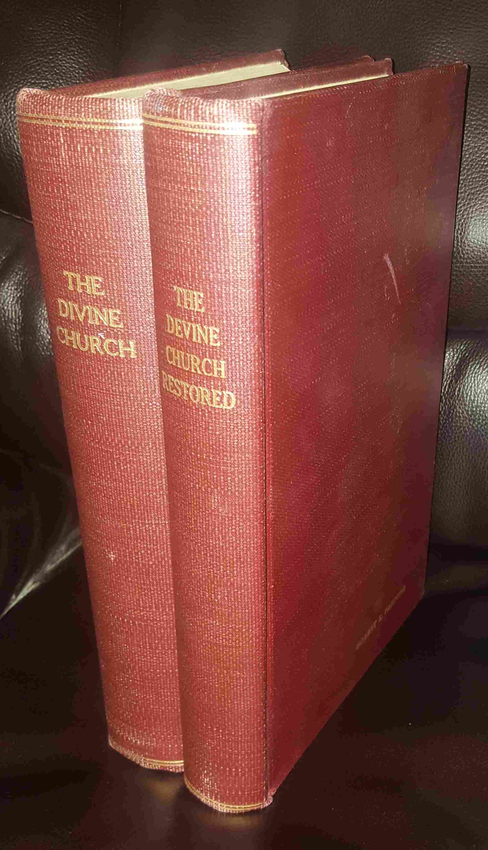 Image for THE DIVINE CHURCH (5 VOLUME SET)
