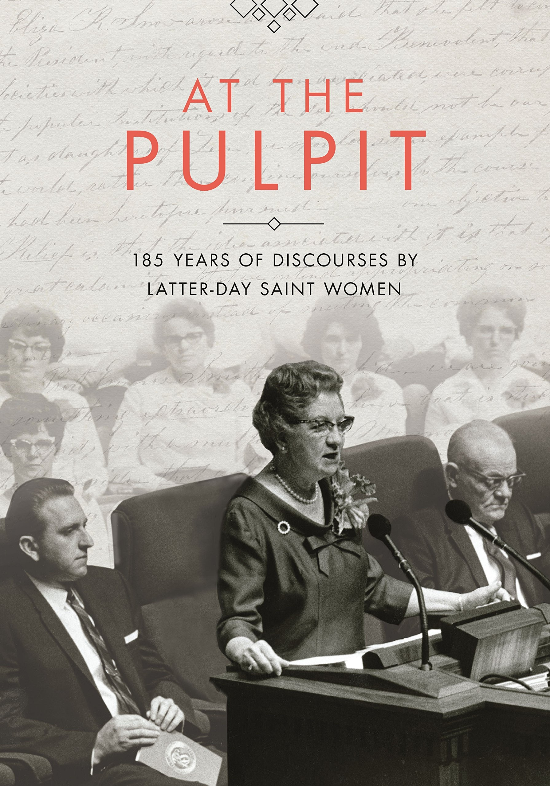 Image for At the Pulpit;   185 Years of Discourses by Latter-day Saint Women