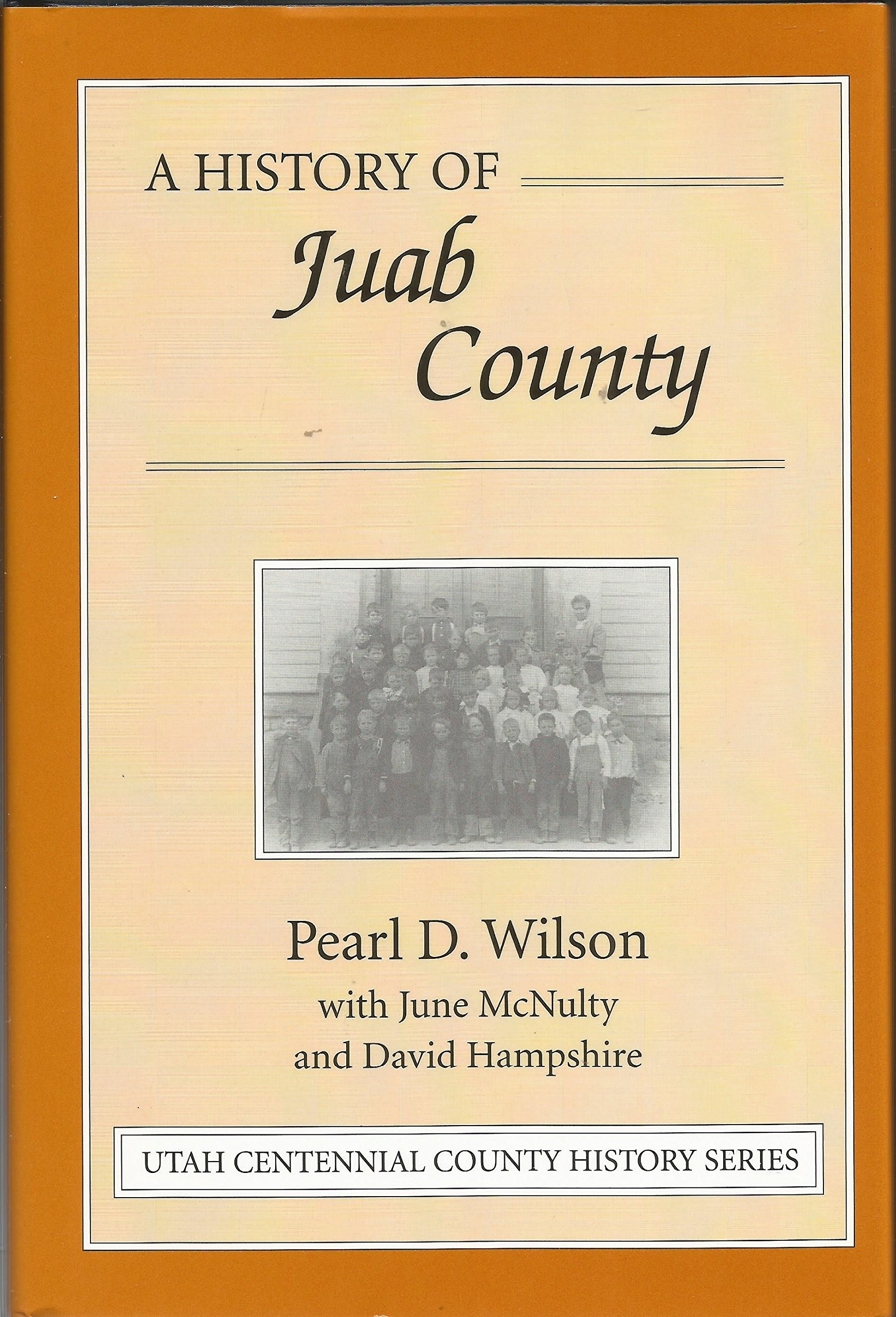 Image for A History of Juab County [Utah]