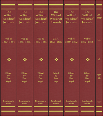 Image for ENLARGED EDITION OFTHE WILFORD WOODRUFF JOURNALS;  seven-volume set (which includes a comprehensive index).