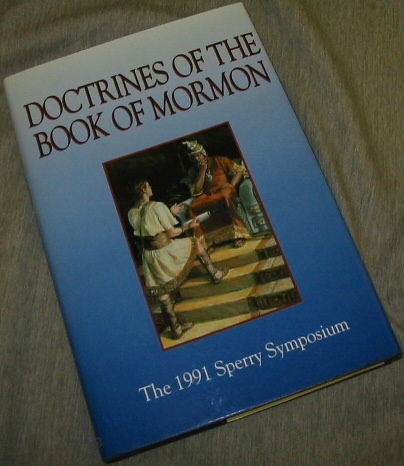 Image for DOCTRINES OF THE BOOK OF MORMON; The 1991 Sperry Symposium