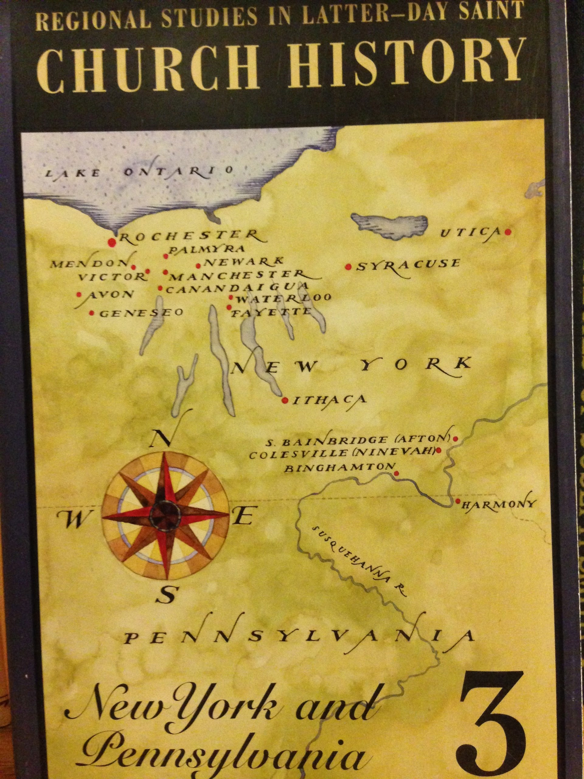 Image for Regional Studies in Latter-day Saint Church History: New York New York and Pennsylvania