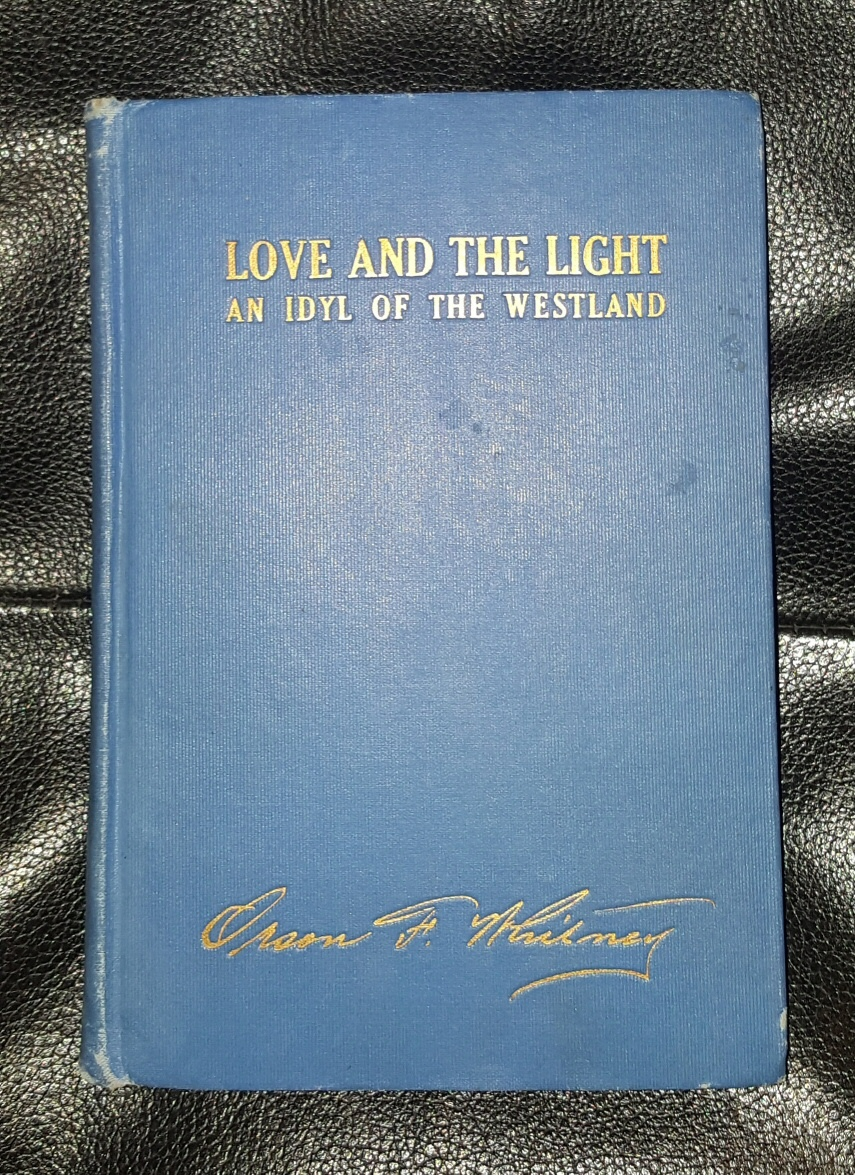 Image for LOVE AND THE LIGHT AN IDYL OF THE WESTLAND