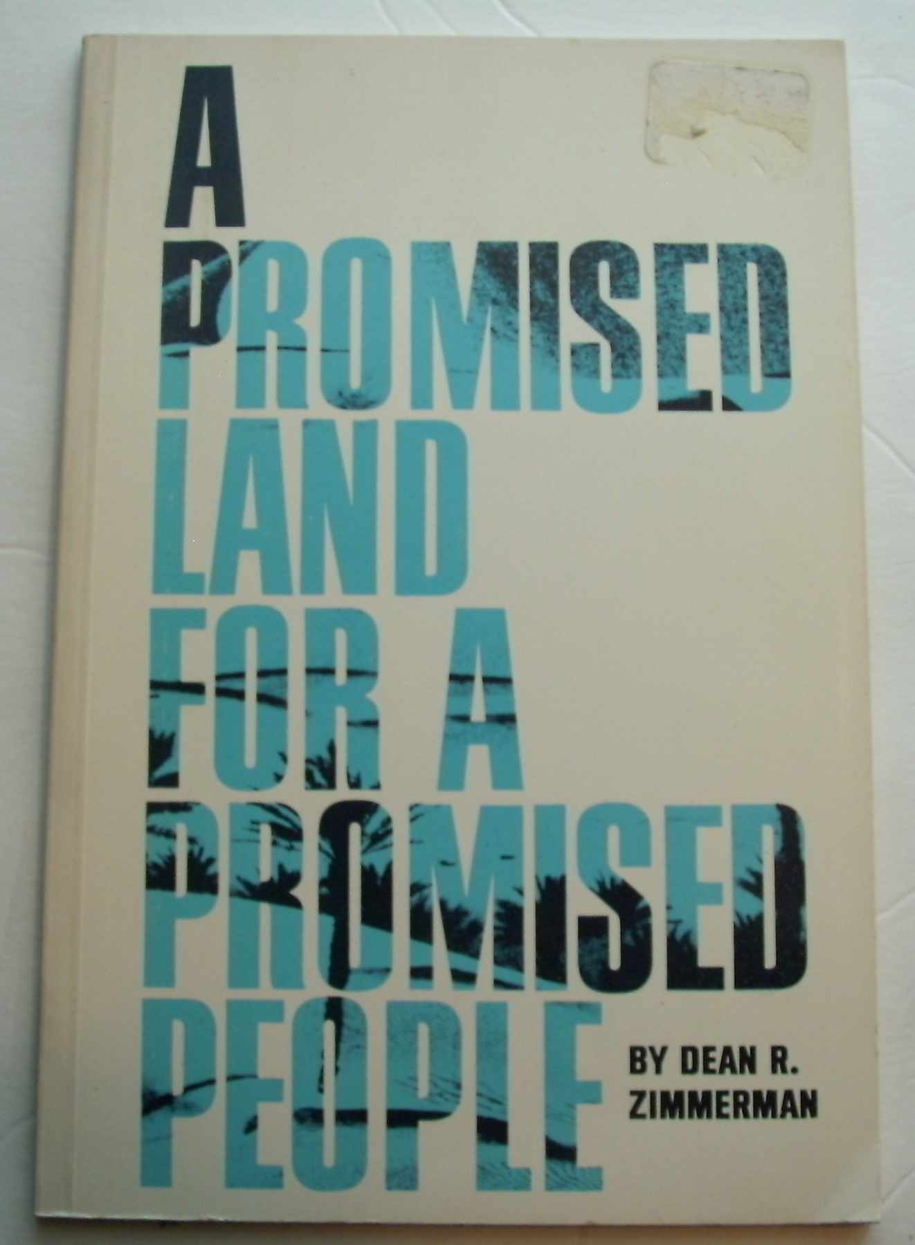 Image for A Promised Land for a Promised People