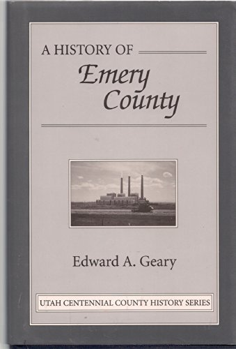 Image for A HISTORY OF EMERY COUNTY